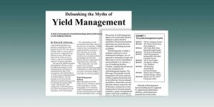 Debunking The Myths Of Yield Management