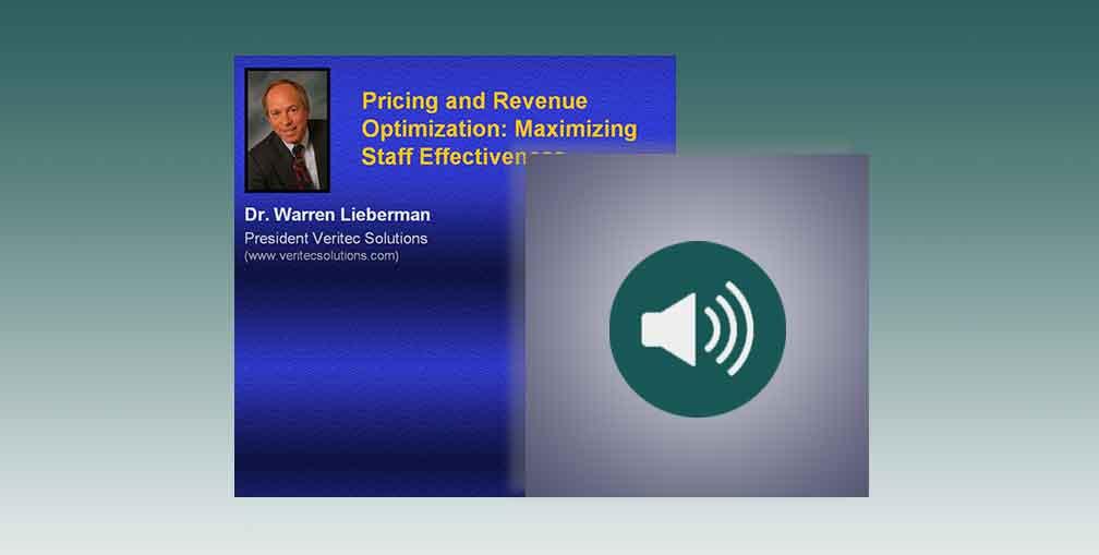 Pricing and Revenue Optimization: Maximizing Staff Effectiveness