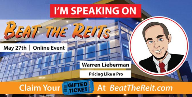 Warren Lieberman-Beat the REIT 2020