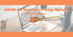 Announcing Oregon SSA Pricing Strategy Session 11-18-2020