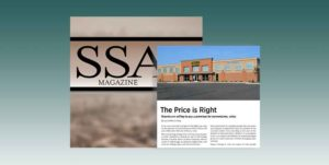 The Price is Right from SSA Magazine